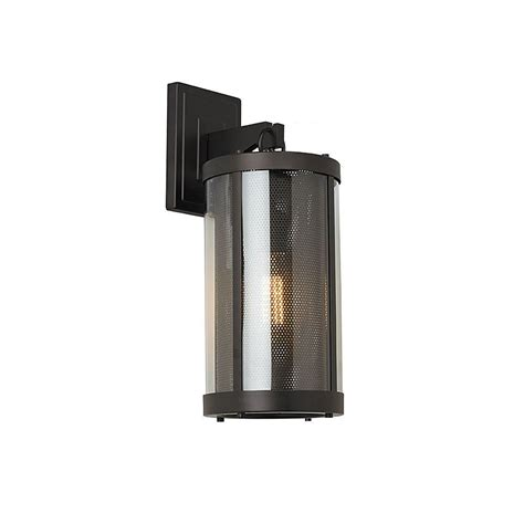 oil rubbed bronze outdoor wall light feiss bluffton collection 1 light oil rubbed bronze