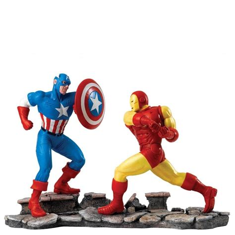 Figure Iron Captain America captain america vs iron figure a27605 figures from