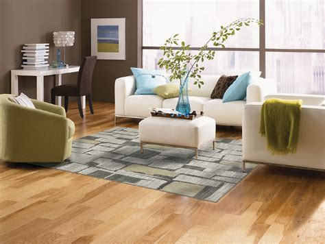 hardwood floor living room hickory wood floors living room rustic with flooring