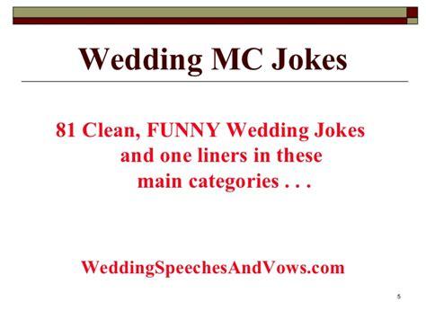 Marriage jokes clean