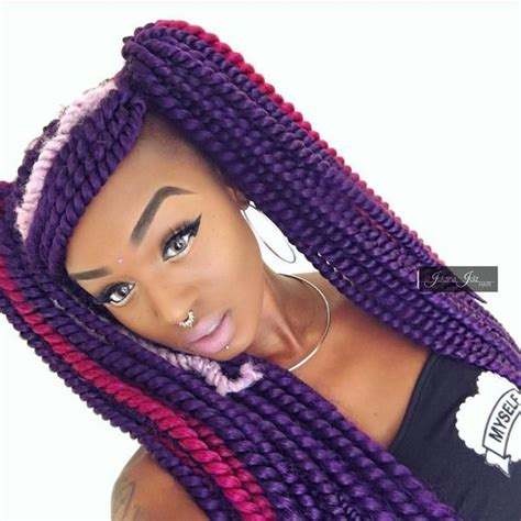 senegalese twist with color best senegalese twist hairstyle ideas 2018
