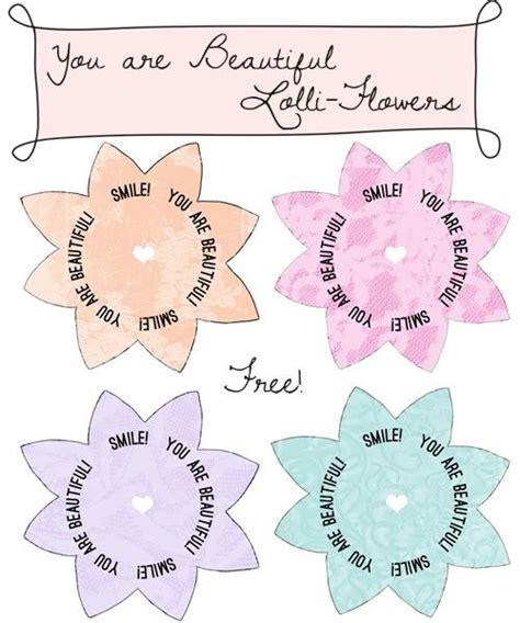 printable beautiful flowers kind over matter freebie printable you are beautiful