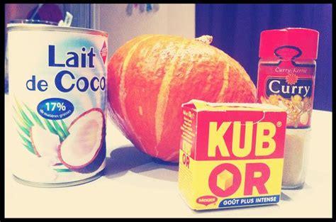 soupe de potimarron au lait de coco 192 lire