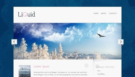 liquid blogger template btemplates