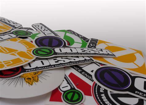 Large Print Sticker