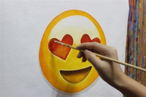 Painting Emoji by For Sale By Owner 500 Emoji Paintings Alex Godin Medium