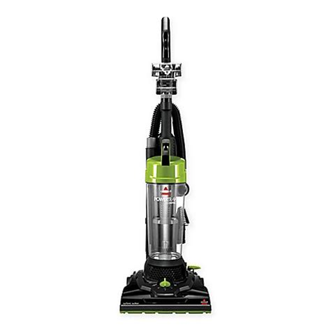 bed bath and beyond vacuum cleaners bissell 174 powertrak compact upright vacuum cleaner in black