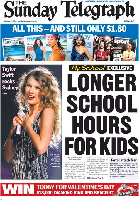 The Sunday Telegraph by Newspaper The Daily Telegraph Australia Newspapers In