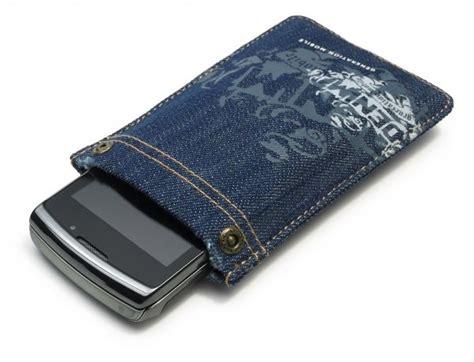 Golla Rivetto Iphone Smartphone Grey Golla G1072 Rivetto Denim Phone Pocket Blue