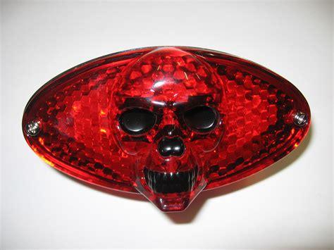 Skull Lights by Skull 3d L E D Oval Light Motociclo