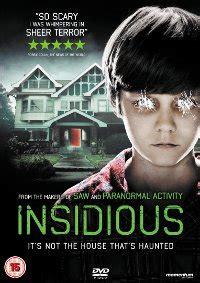insidious movie gross horror insidious dvd and blu ray date announced