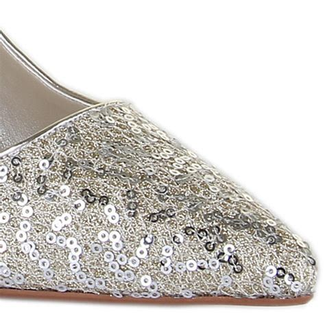Flat Gliter Silver Rainbow buy rainbow couture vita glitter covered court shoes