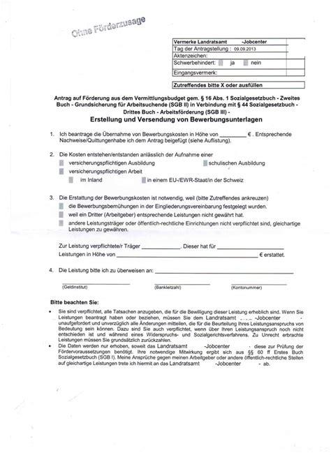 bafg antrag nrw 2013 antrag auf bewerbungskostenerstattung erwerbslosen forum grund und