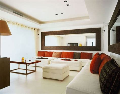 how to decorate wall in living room living room beautiful mirror wall decor for living room