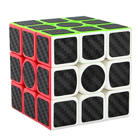 Rubik 3x3 White Base Rounded Anti Pop Out Poping Ori Yong Jun dreark 3x3x3 speed cube carbon fiber sticker for smooth magic cube puzzles ebay