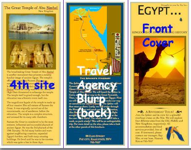 Students Create A Travel Brochure Or Travel Agency Presentation Prezi Powerpoint For One Or Travel Brochure Maker