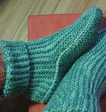 knitted bed socks pattern easy sideways slipper boots w options slipper boots crochet