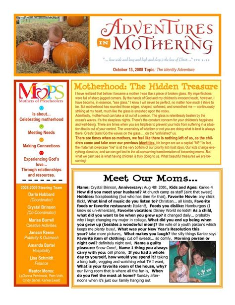 Scope Of Work Template Mops Newsletter Pinterest Newsletter Ideas The O Jays And Mom Newsletter Template Ideas