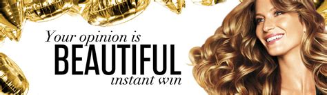 My Opinions Instant Win - pantene s your opinion is beautiful instant win game