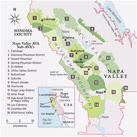 napa california map napa debates limit on winery numbers decanter