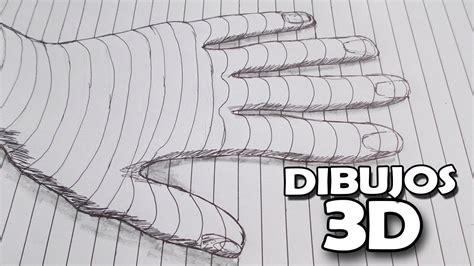 ilusiones opticas faciles de hacer a mano como dibujar en 3d ilusi 243 n optica youtube