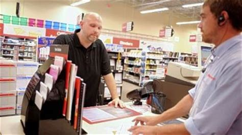 Office Depot Employee Office Depot Overhauls Retail Format To Fortify Sales