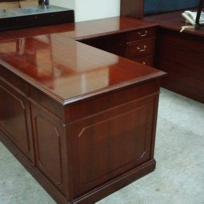 Kimball Reception Desk Desks Used Mad Mund