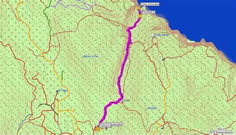 Karpet Karet Calya sardinien trekking wandern reisen