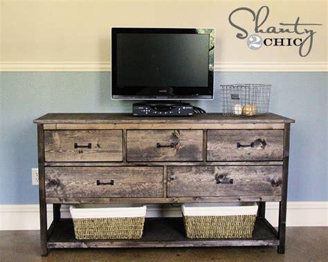 Ellis Sideboard By Vintage diy rustic tv stand barn wood pinterest