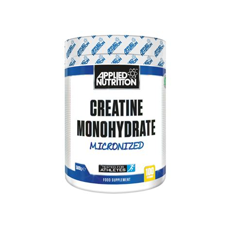 creatine gas creatine monohydrate 250g applied nutrition
