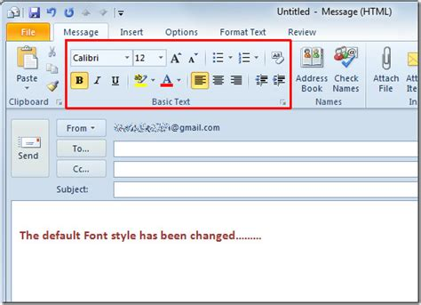 how do i apply themes and styles in excel with pictures change default email font settings theme in outlook 2010
