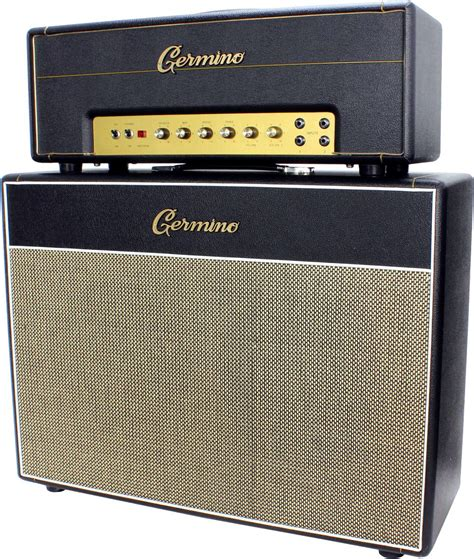 Germino 2x12 Cabinet by Germino Cllassic 45 With 2x12 Cab Used Humbucker