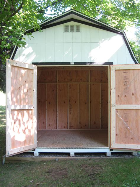 Shed Basement by Living The Small Town Our Shed Is Here