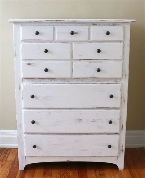 How To Distress Paint A Dresser by 17 Best Ideas About White Distressed Furniture On
