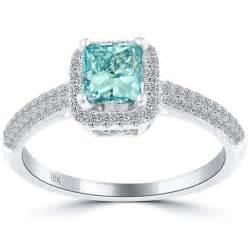 Engagement Ring by Blue Diamond Princess Cut Engagement Ring 171 Diamantbilds