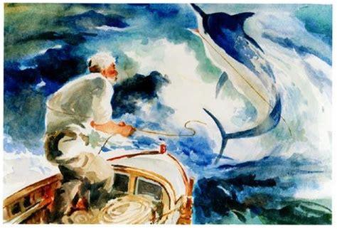 libro the man on the il vecchio e il mare riassunto