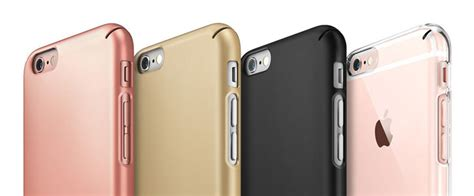 Rearth Ringke Slim Hardcase Iphone 6s Casing Cover Gold rearth ringke slim iphone 6s 6 gold reviews mobilezap australia