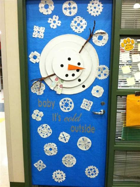 winter classroom door decorating ideas 22 door decorating ideas