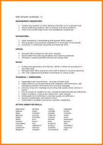 Skills To On Resume by 8 Resume Skills List Exles Bibliography Formated