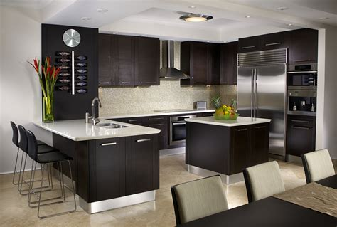Kitchens Interior Design by Kitchen Interior Design Services Miami Florida