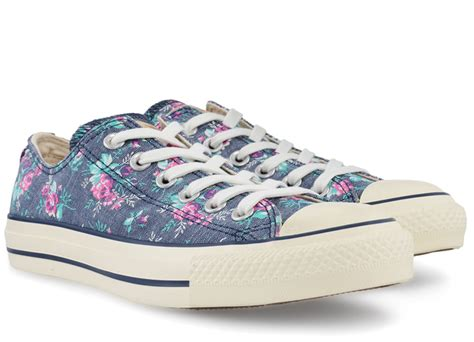 Converse All Ox Flower Motif converse floral print ox 537113c gravitypope