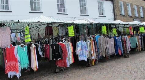 In The Fashion Marketplace by Clothing Stall Fakenham Info