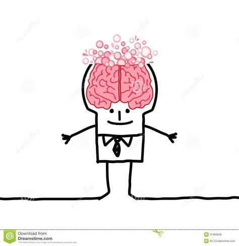 Big Brain Man Bubbles Royalty Free Stock Photos Image Big Brain Pricing
