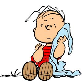 Snoopy Character With Blanket by Linus Pelt