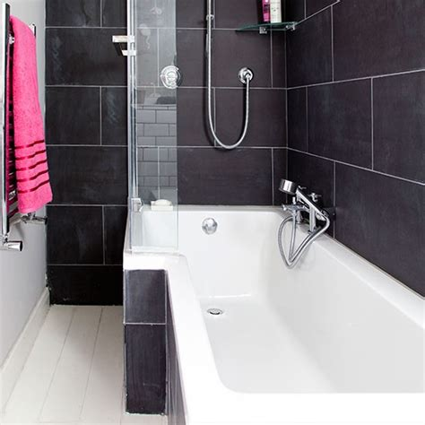 Charcoal Bathroom by Charcoal And White Bathroom Bathroom Decorating
