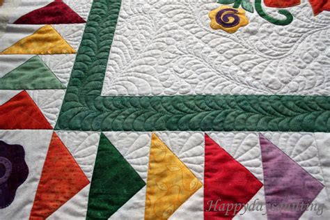 Flying Geese Quilting by Happy Days Quilting Flying Geese Applique Quilt