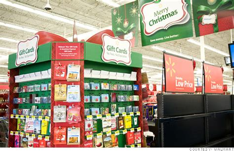 List Of Gift Cards Sold At Walmart - wal mart introduces christmas price guarantee program oct 24 2011