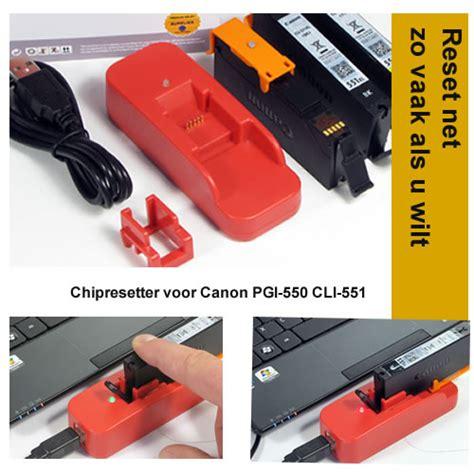 chip resetter canon pgi 550 cli 551 resetten canon pgi 550 cli 551 inktpatronen chipresetter