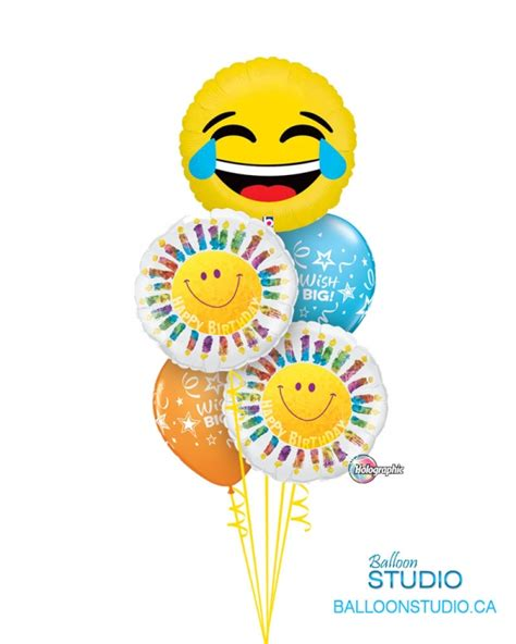 Wedding Wishes Emoji by Emoji Bithday Bouquet Laugh Balloons Vancouver Jc Balloon