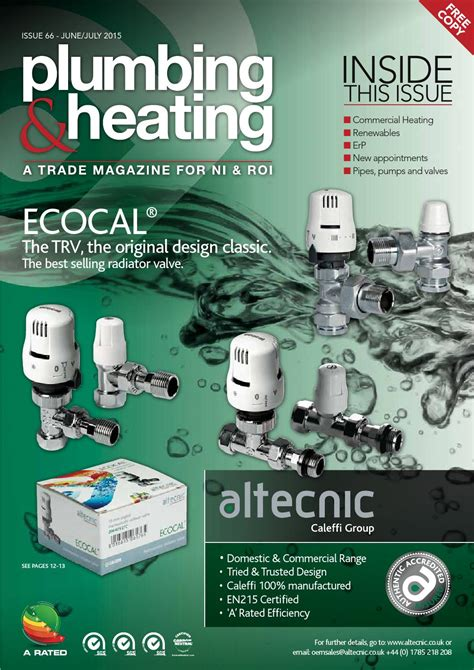 Plumbing Heating Magazine by Plumbing And Heating Magazine Issue66 By Mcavoy